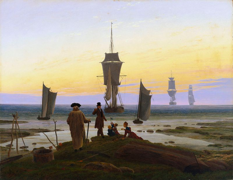 Yaşamın Evreleri - Caspar David Friedrich